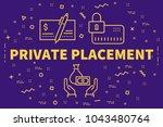 conceptual business...   Shutterstock . vector #1043480764