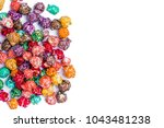 brightly colored candied... | Shutterstock . vector #1043481238