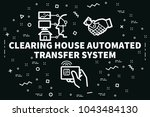 conceptual business... | Shutterstock . vector #1043484130