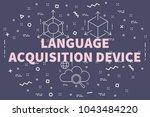 conceptual business... | Shutterstock . vector #1043484220