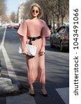 paris march 2  2017. street... | Shutterstock . vector #1043491066