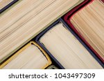 education background   group of ... | Shutterstock . vector #1043497309