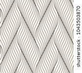 seamless pattern with geometric ... | Shutterstock .eps vector #1043503870