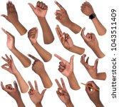 African american man hands...
