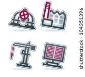 Industry   Heavy Industry Icons ...