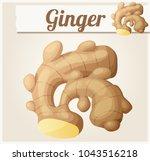 ginger. detailed icon. series... | Shutterstock . vector #1043516218