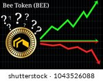 possible graphs of forecast bee ...   Shutterstock .eps vector #1043526088