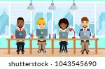 business concept. a... | Shutterstock .eps vector #1043545690