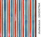watercolor blue red brown... | Shutterstock . vector #1043547964