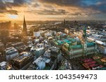 Aerial View Of The Skyline Of...