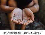 selective soft focus. hands... | Shutterstock . vector #1043563969