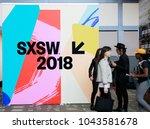 austin  texas   mar 11  2018 ... | Shutterstock . vector #1043581678
