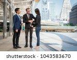 global business people...   Shutterstock . vector #1043583670