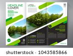 business brochure. flyer design.... | Shutterstock .eps vector #1043585866
