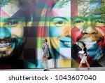 austin  texas   mar 11  2018 ...   Shutterstock . vector #1043607040