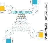 line illustration of food...   Shutterstock .eps vector #1043618860