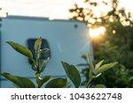 caravanning around new zealand | Shutterstock . vector #1043622748