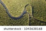 mangrove forest aerial landscape | Shutterstock . vector #1043638168