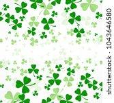 saint patricks day background ... | Shutterstock .eps vector #1043646580