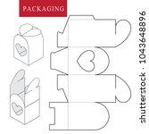 package for bakery.vector... | Shutterstock .eps vector #1043648896