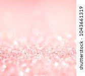 Pink Gold Glitter Background...