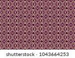 backdrop  fabric  gold... | Shutterstock . vector #1043664253