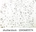 water rain drop on glass | Shutterstock . vector #1043685574