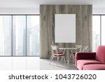 modern living room interior... | Shutterstock . vector #1043726020