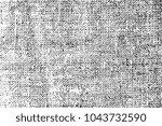 dark grunge texture of linen... | Shutterstock .eps vector #1043732590
