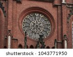Central Round Window Of The...