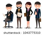 group of business people team....   Shutterstock .eps vector #1043775310