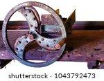 cutting nettles agricultural...   Shutterstock . vector #1043792473