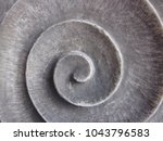 grey spiral made of stone ...   Shutterstock . vector #1043796583
