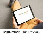 search engine optimization  seo ... | Shutterstock . vector #1043797903
