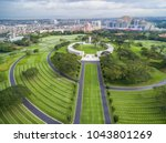 The Manila American Cemetery...