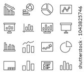 flat vector icon set   crisis... | Shutterstock .eps vector #1043825746