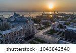 aerial image of sunrise over... | Shutterstock . vector #1043842540