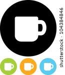 coffee mug   vector icon... | Shutterstock .eps vector #104384846