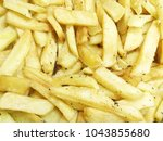 a pile of french fries | Shutterstock . vector #1043855680