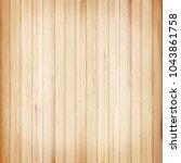 wooden wall texture background | Shutterstock . vector #1043861758