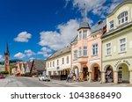vrchlabi  hradec kralove... | Shutterstock . vector #1043868490
