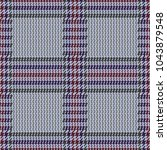 check fashion tweed color... | Shutterstock .eps vector #1043879548