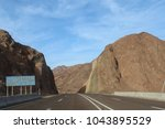 road in the mountains of dahab. ... | Shutterstock . vector #1043895529