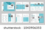 brochure creative design.... | Shutterstock .eps vector #1043906353