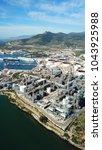 Small photo of Aerial drone photo of Public Hellenic Petroleum Oil refinery in Elefsina, Attica, Greece