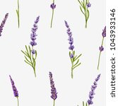 beautiful hand drawn botanical... | Shutterstock .eps vector #1043933146