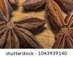 star anise close up | Shutterstock . vector #1043939140