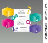 four steps info graphics   can... | Shutterstock .eps vector #1043943196