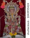 Small photo of Ganpati bappa deity statue