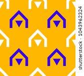 native village seamless pattern.... | Shutterstock .eps vector #1043962324